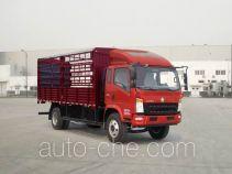 豪沃牌ZZ5137CCYF421CD1型仓栅式运输车