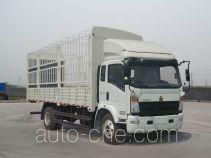 豪沃牌ZZ5137CCYG471CD1型仓栅式运输车