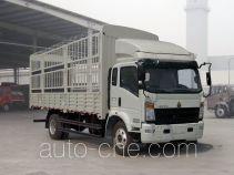 豪沃牌ZZ5137CCYG521CD1型仓栅式运输车