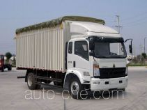 Sinotruk Howo ZZ5137CPYG521CD1 soft top box van truck