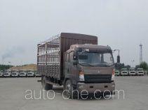 豪沃牌ZZ5147CCYG381CE1型仓栅式运输车