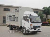 豪沃牌ZZ5147CCYG5215D1型仓栅式运输车