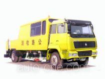 Sida Steyr ZZ5156TLCL6016F road testing vehicle