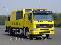 豪泺牌ZZ5157TLCN5618W型公路测试车