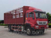 黄河牌ZZ5164CCYF5216D1型仓栅式运输车