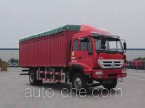 Huanghe ZZ5164CPYF5216C1 soft top box van truck