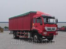 Huanghe ZZ5164CPYF5216D1 soft top box van truck