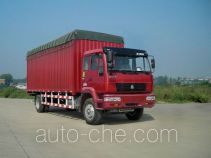 Huanghe ZZ5164XXBK4715C1 soft top box van truck