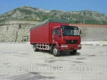 Huanghe ZZ5164XXBK5315C1 soft top box van truck