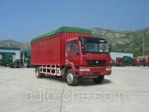 Huanghe ZZ5164XXBK6015C1 soft top box van truck