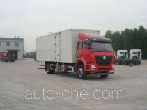豪瀚牌ZZ5165XXYM5713E1L型厢式运输车