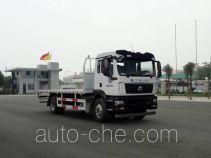 汕德卡牌ZZ5166TPBK501GE1型平板运输车