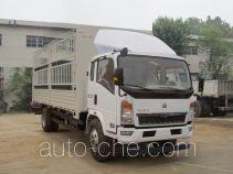 豪沃牌ZZ5167CCYG4215D1型仓栅式运输车