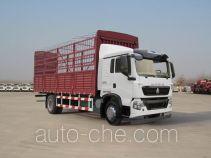 豪沃牌ZZ5167CCYG501GD1型仓栅式运输车