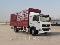 豪沃牌ZZ5167CCYH501GD1型仓栅式运输车