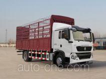 豪沃牌ZZ5167CCYM501GE1L型仓栅式运输车