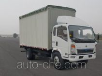 Sinotruk Howo ZZ5127CPYG3615D1 soft top box van truck