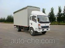 Sinotruk Howo ZZ5127CPYG4715D1 soft top box van truck