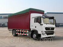 Sinotruk Howo ZZ5167CPYG501GD1 soft top box van truck