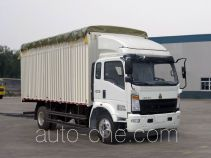 Sinotruk Howo ZZ5167CPYG521CD1 soft top box van truck