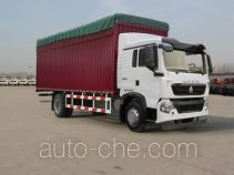 Sinotruk Howo ZZ5167CPYH501GD1 soft top box van truck