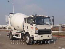 豪沃牌ZZ5167GJBG381CE1型混凝土搅拌运输车