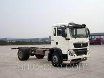 豪沃牌ZZ5167XXYM561GD1型厢式运输车底盘
