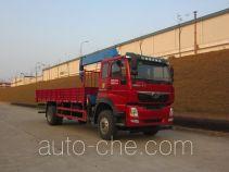 豪曼牌ZZ5168JSQF10DB0型随车起重运输车