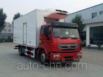豪瀚牌ZZ5185XLCK5113E1型冷藏车