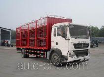 豪沃牌ZZ5187CCQK501GE1型畜禽运输车