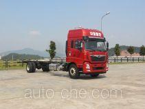 豪曼牌ZZ5188XXYG10EB0型厢式运输车底盘