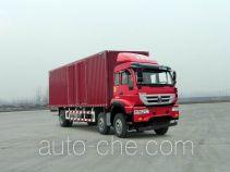 斯达-斯太尔牌ZZ5201XXYM56CGE1L型厢式运输车