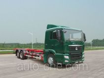 汕德卡牌ZZ5206ZKYM52HGD1型车厢可卸式邮政车