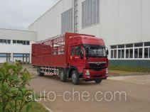 Homan ZZ5208CCYKC0DB0 грузовик с решетчатым тент-каркасом