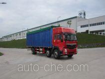 豪曼牌ZZ5208CPYKC0DB1型蓬式运输车