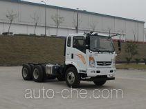 豪曼牌ZZ5238GJBG47EB0型混凝土搅拌运输车底盘
