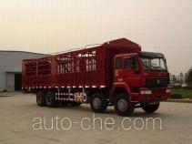 Sida Steyr ZZ5241CLXM4661C1 грузовик с решетчатым тент-каркасом