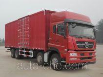 斯达-斯太尔牌ZZ5243XXYN466GE1型厢式运输车