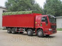 Sinotruk Howo ZZ5247XXBM4667C1 soft top box van truck