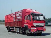 Sida Steyr ZZ5251CCYM56C1C1A грузовик с решетчатым тент-каркасом