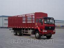 Sida Steyr ZZ5251CLXM5041C1 грузовик с решетчатым тент-каркасом