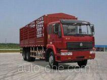 Sida Steyr ZZ5251CLXM5241C1 грузовик с решетчатым тент-каркасом