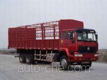 Sida Steyr ZZ5251CLXM5441C1 грузовик с решетчатым тент-каркасом