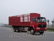 Sida Steyr ZZ5251CLXM5641C1 грузовик с решетчатым тент-каркасом