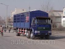Sida Steyr ZZ5251CLXM56C1A грузовик с решетчатым тент-каркасом