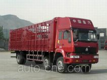 Sida Steyr ZZ5251CLXM56C1C1 грузовик с решетчатым тент-каркасом