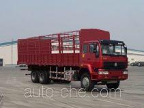 Sida Steyr ZZ5251CLXM5841C1 грузовик с решетчатым тент-каркасом
