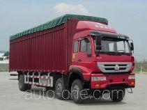 斯达-斯太尔牌ZZ5251CPYM56C1C1A型蓬式运输车