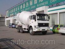 斯达-斯太尔牌ZZ5251GJBM3649W型混凝土搅拌运输车