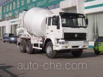 斯达-斯太尔牌ZZ5251GJBN3841C型混凝土搅拌运输车